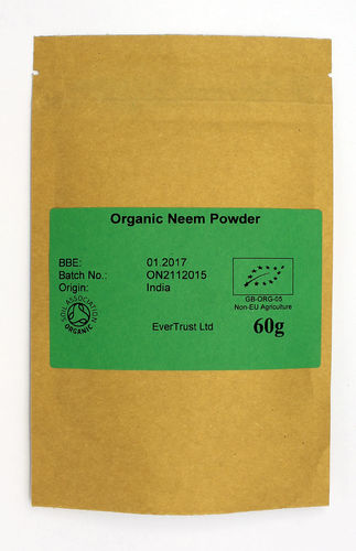 Organic Neem powder 60g