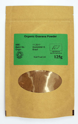 Guarana powder (organic) 125g