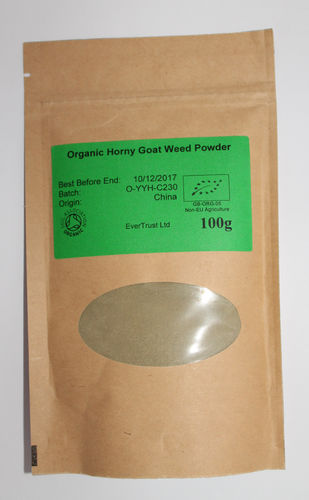 Horny Goat Weed (powdered) 125g