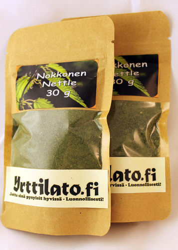 Nettle (powdered/wild herb) 60g