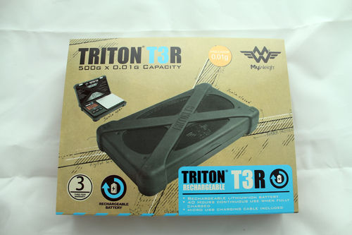My Weigh TRITON T3 500g x 0.01g - rechargeable